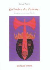 Quilombos Dos Palmares. Lectures Sur Un Marronnage Bresilien - Intérieur - Format classique