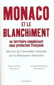 Monaco Et Le Blanchiment - Intérieur - Format classique