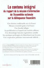 Monaco Et Le Blanchiment - 4ème de couverture - Format classique