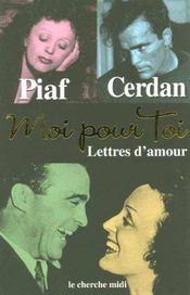 Moi Pour Toi ; Lettres D'Amour - Intérieur - Format classique