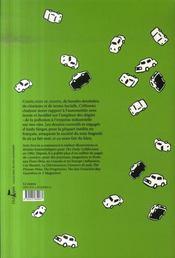 Cartoons ; le cauchemard automobile - 4ème de couverture - Format classique