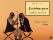 Amphitryon De Maurice Emmanuel - Couverture - Format classique