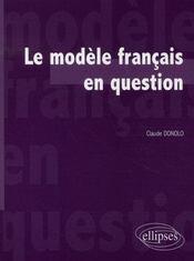 Le modèle français en question - Intérieur - Format classique