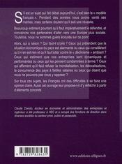 Le modèle français en question - 4ème de couverture - Format classique