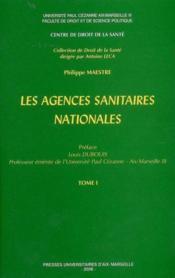 Les Agences Sanitaires Nationales - Couverture - Format classique