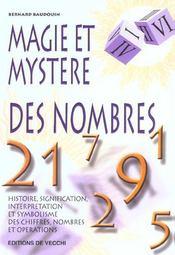 Magie Et Mystere Des Nombres - Intérieur - Format classique