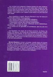 Magie Et Mystere Des Nombres - 4ème de couverture - Format classique