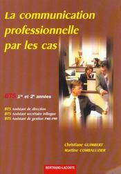 La communication prof.par les cas - Intérieur - Format classique
