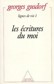 Lignes de vie 1 : les ecritures du moi - Couverture - Format classique