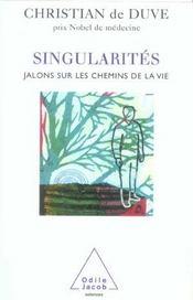 Singularites - Intérieur - Format classique