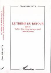 Le Theme Du Retour - Couverture - Format classique
