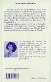 Le Coureur D'Etoile - 4ème de couverture - Format classique