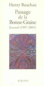 Passage De La Bonne-Graine - Couverture - Format classique