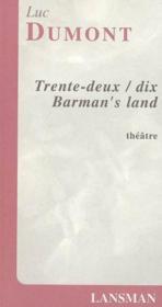 32/10 barman's land - Couverture - Format classique
