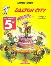 Lucky Luke ; Dalton city - Intérieur - Format classique
