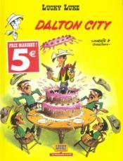 Lucky Luke ; Dalton city - Couverture - Format classique