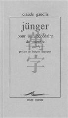 Junger,Pour Un Abecedaire Du Monde - Couverture - Format classique