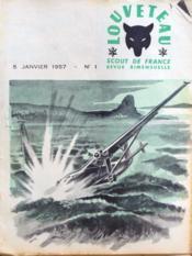 Louveteau N°1 du 05/01/1957 - Couverture - Format classique