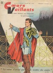 Coeurs Vaillants N°42 - La Valeur N'Attend Pas Le Nombre Des Annees - Couverture - Format classique