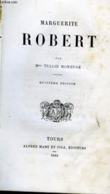 Marguerite ROBERT - Couverture - Format classique