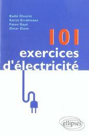 101 Exercices D'Electricite - Intérieur - Format classique