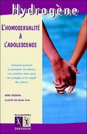 Homosexualite A L'Adolescence (L') - Intérieur - Format classique