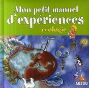 Mon petit manuel de l'écologie - Intérieur - Format classique