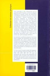 Exercices et problemes de physique 2 annee - 4ème de couverture - Format classique