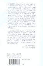 Le Tourbillon - 4ème de couverture - Format classique