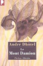 Le mont Damion - Couverture - Format classique