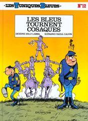 Les tuniques bleues t.12 ; les bleus tournent cosaques - Intérieur - Format classique