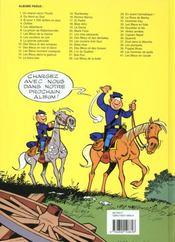 Les tuniques bleues t.12 ; les bleus tournent cosaques - 4ème de couverture - Format classique