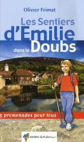 Les Sentiers D'Emilie Dans Le Doubs - Couverture - Format classique