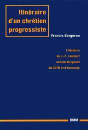 Itineraire chretien progressiste - Couverture - Format classique