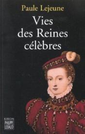 Vies des reines célèbres - Couverture - Format classique