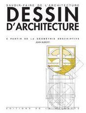 Dessin d'architecture (5e édition) - Intérieur - Format classique