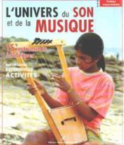 L'Univers Du Son Et De La Musique - Couverture - Format classique