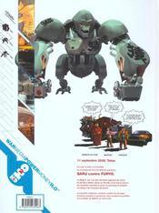 Golgoth Aqua Tek, Gat - 4ème de couverture - Format classique
