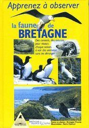 Apprenez a observer la faune de bretagne - Intérieur - Format classique