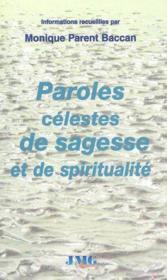 Sagesse et spiritualite - Couverture - Format classique