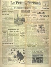 Petit Parisien Edition De Paris (Le) du 03/10/1941 - Couverture - Format classique