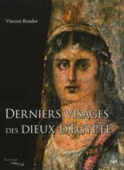 Derniers Visages Des Dieux D Egypte - Couverture - Format classique