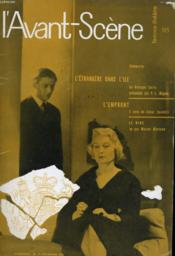 L'AVANT-SCENE - FEMINA-THEATRE N° 185 - L'ETRANGE DANS L'ILE de GEORGES SORIA présentée par P.-L. MIGNON - Couverture - Format classique