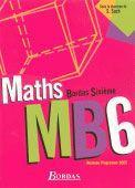 Vente livre :  Maths bordas 6e manuel 2005  - Aleth Gallice