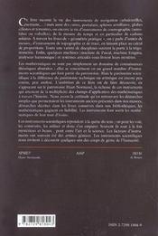 Instruments Scientifiques A Travers L'Histoire - 4ème de couverture - Format classique