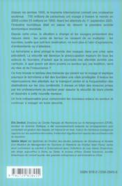 Tourisme Et Terrorisme Des Vacances De Reve Aux Voyages A Risque - 4ème de couverture - Format classique