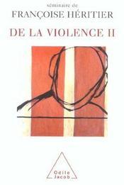 De la violence t.2 - Intérieur - Format classique