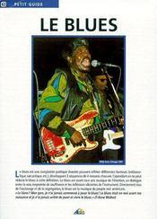 Petit Guide T.63 ; Le Blues - Couverture - Format classique