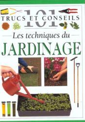 Les techniques du jardinage - Couverture - Format classique