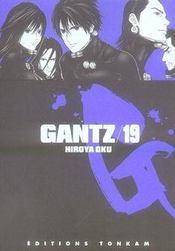 Gantz t.19 - Intérieur - Format classique